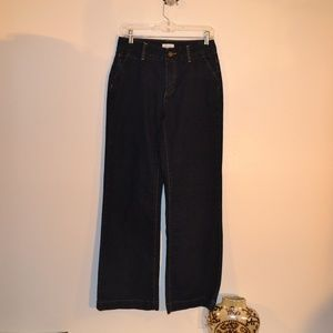 christopher & banks stretch jeans size 4